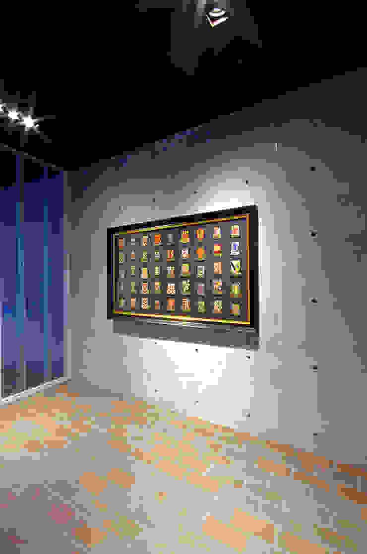 新大阪のオフィスビル/ギャラリー3 の 一級建築士事務所アールタイプ モダン コンクリート
