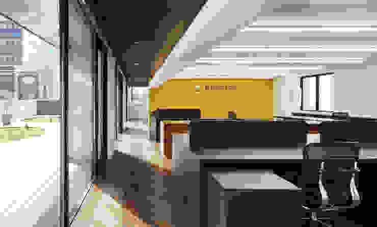 新大阪のオフィスビル/事務室1 の 一級建築士事務所アールタイプ モダン