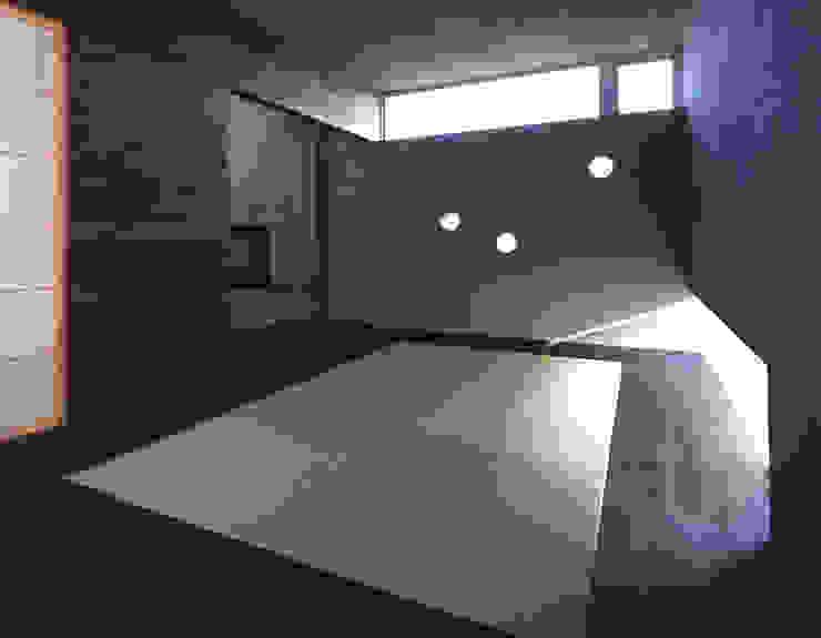 Modern Media Room by 株式会社長野聖二建築設計處 Modern