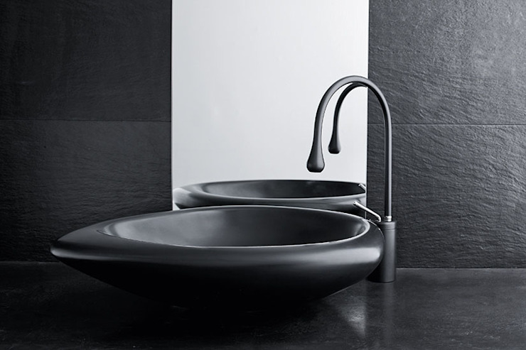 Mastella Design BathroomSinks Synthetic Black