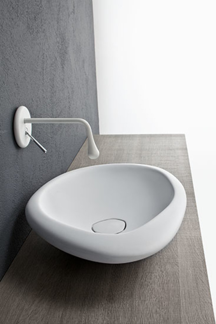 Mastella Design BathroomSinks Synthetic White