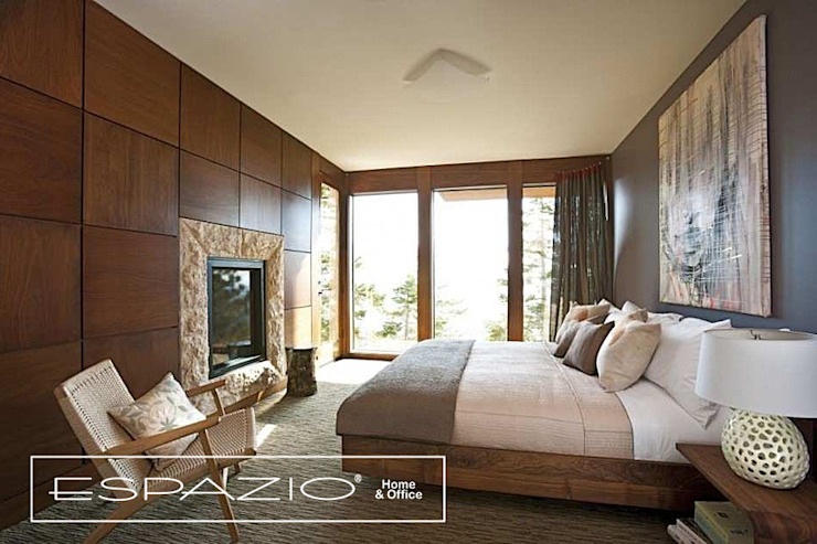 Bedroom by Espazio - Home & Office, Country