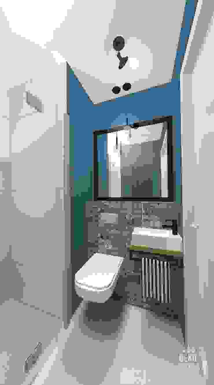 Eclectic style bathroom by dekoratorka.pl Eclectic