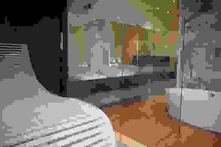 Blick aus der Sauna Erdmann Exklusive Saunen Moderner Spa