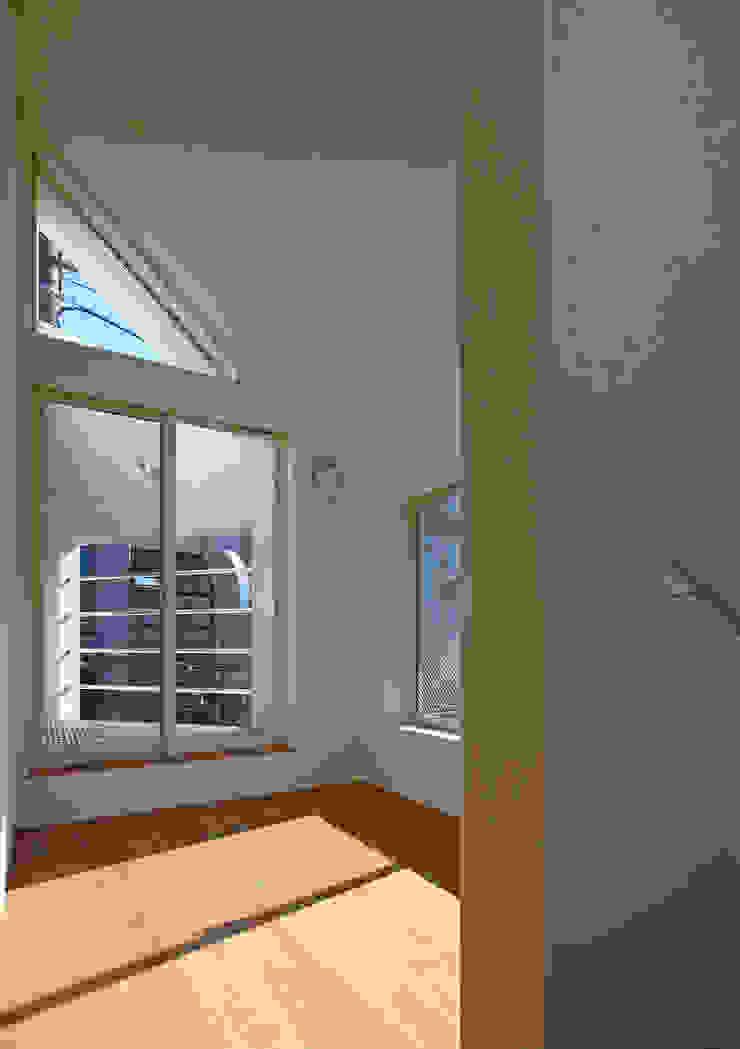 八幡山の二世帯住宅 モダンスタイルの寝室 の アトリエハコ建築設計事務所/atelier HAKO architects モダン
