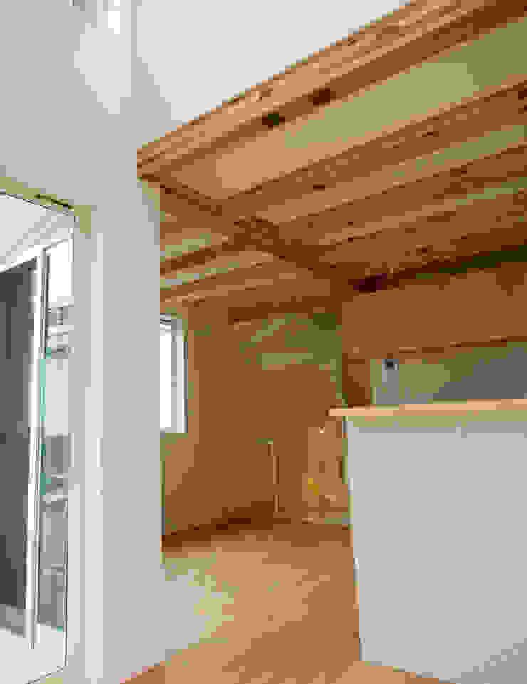 八幡山の二世帯住宅 モダンデザインの ダイニング の アトリエハコ建築設計事務所/atelier HAKO architects モダン