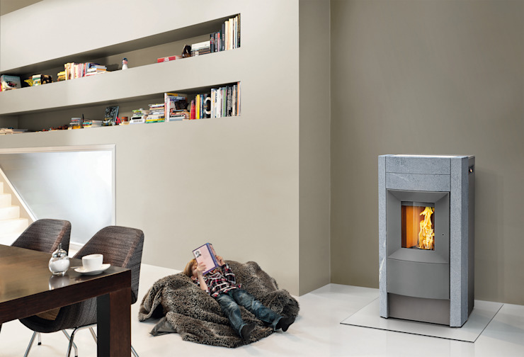 RIKA Innovative Ofentechnik GmbH Living roomFireplaces & accessories Grey
