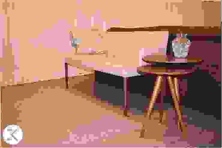 Projeto Auge Home Resort Salas de estar modernas por Coppini & Khauam Arquitetura e Interiores Moderno