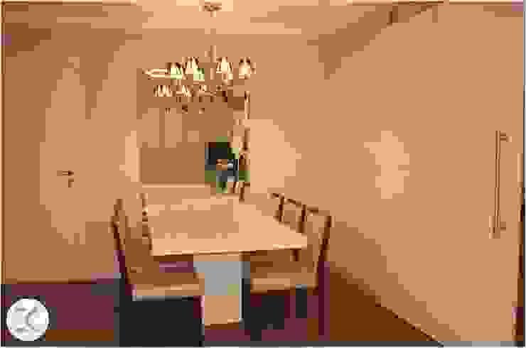 Projeto Auge Home Resort Salas de jantar modernas por Coppini & Khauam Arquitetura e Interiores Moderno