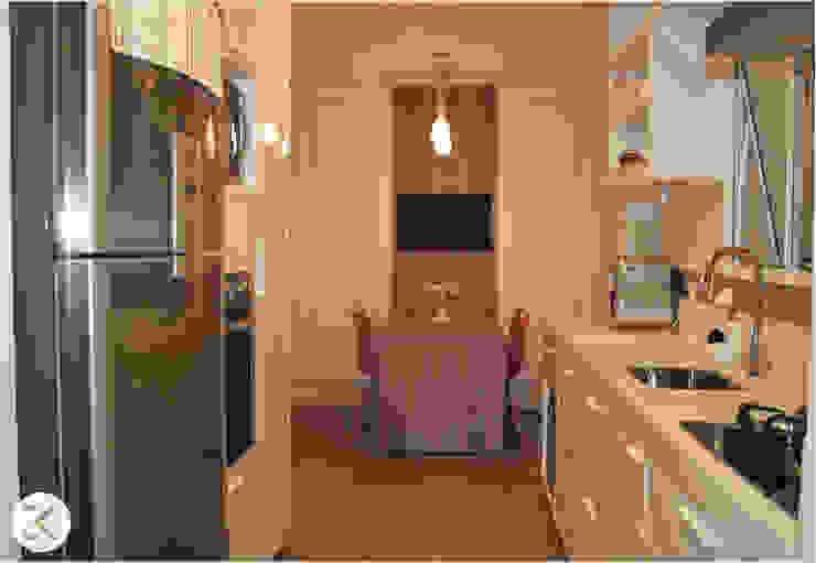 Projeto Auge Home Resort Cozinhas modernas por Coppini & Khauam Arquitetura e Interiores Moderno