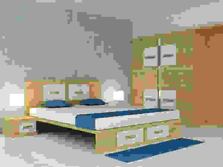Bedroom by Preetham  Interior Designer, Modern پلائیووڈ