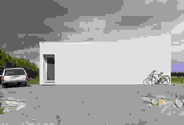 House for a Photographer 미니멀리스트 주택 by STUDIO RAZAVI ARCHITECTURE 미니멀