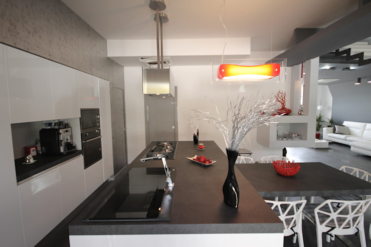 Luxury Home Studio Ferlenda Cucina moderna