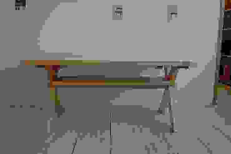 ダイニングテーブル  全体: hatch   が手掛けたカントリーです。,カントリー 木 木目調