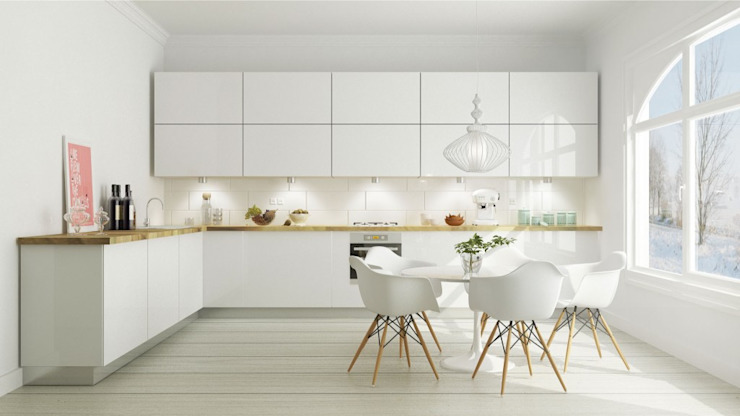 Scandinavian style kitchen by homify Scandinavian