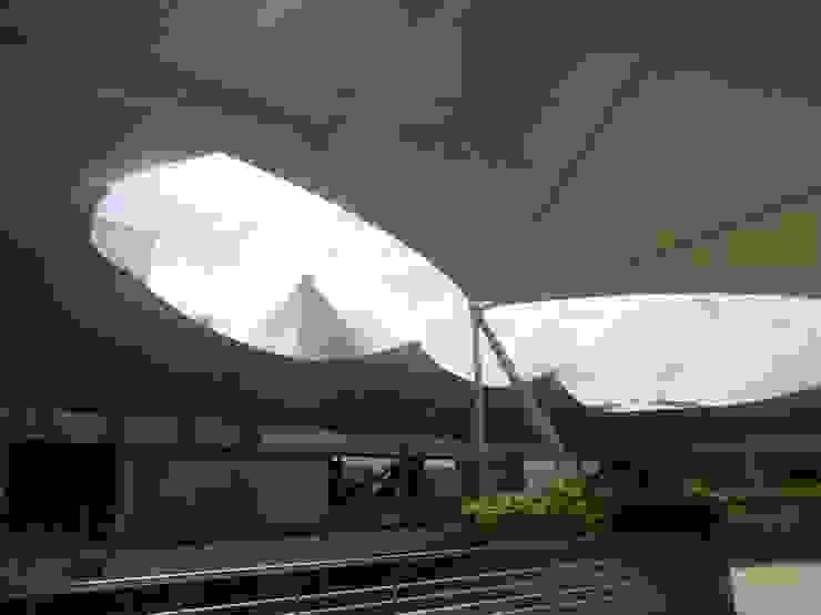 MEMBRANAS ARQUITECTONICAS de arquitectura sostenible colombia Moderno Compuestos de madera y plástico