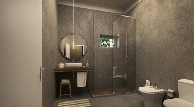 Baños de estilo moderno de Maqet Moderno