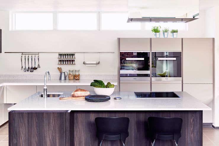 ALNO kitchen - as seen on Building The Dream The ALNO Store Bristol Cocinas de estilo moderno