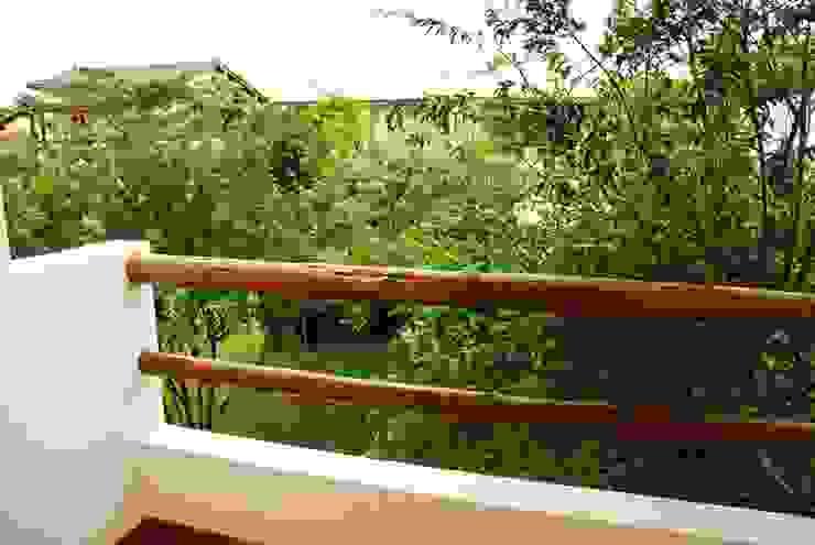 Mônica Mellone Arquitetura Balcon, Veranda & Terrasse originaux