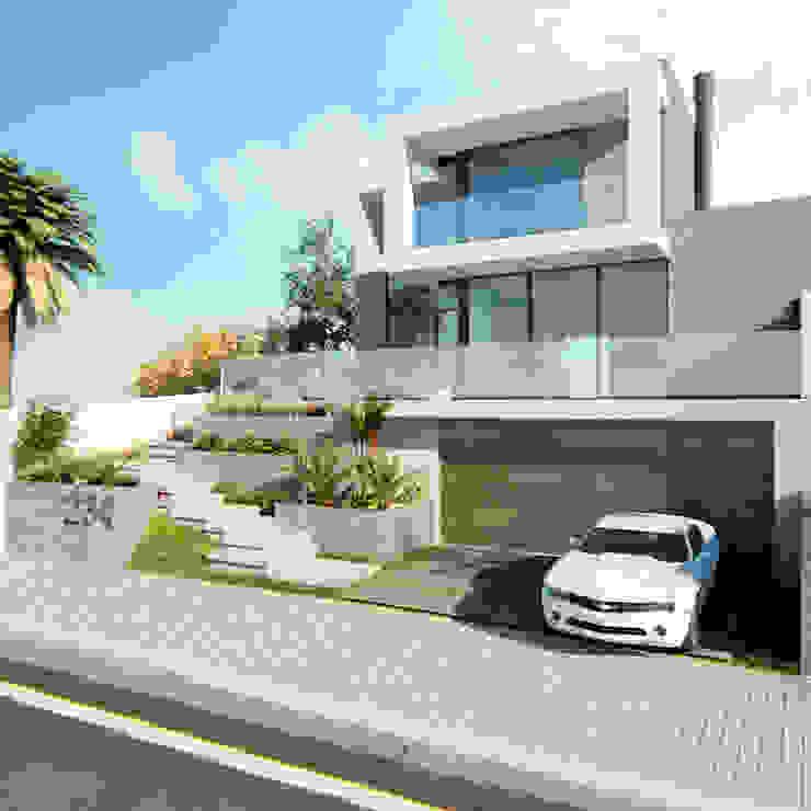 Manuela Di Giorgio | Arquitetura e Interiores Modern houses Concrete Grey