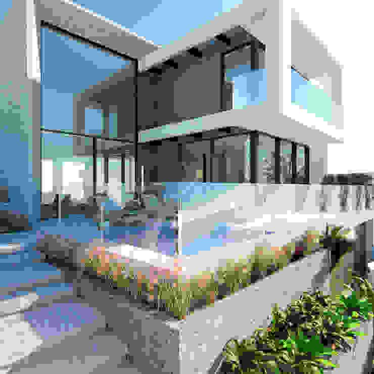 Manuela Di Giorgio | Arquitetura e Interiores Case moderne Cemento Grigio