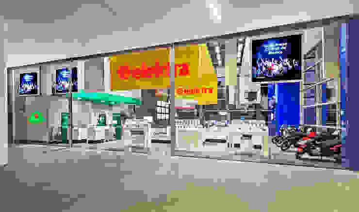 Showroom Elektra (Sucursal Arena Ciudad de México) Estudios y despachos modernos de usoarquitectura Moderno
