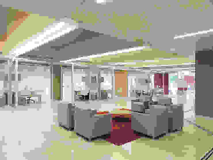 Scotiabank (Sucursal No.1) Estudios y despachos modernos de usoarquitectura Moderno
