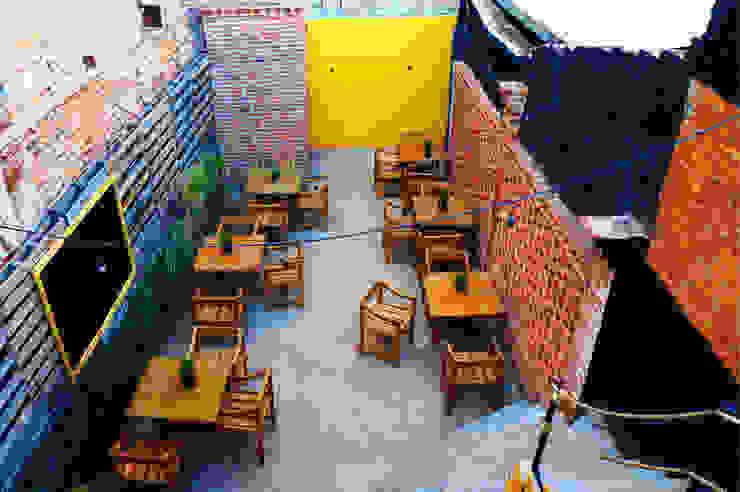 Área Terraza | Casa Gallo Gastronomía de estilo rústico de CÉRVOL Rústico