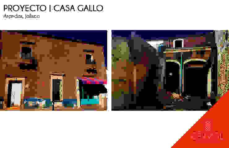 Proyecto de Restauración | Casa Gallo Gastronomía de estilo rústico de CÉRVOL Rústico