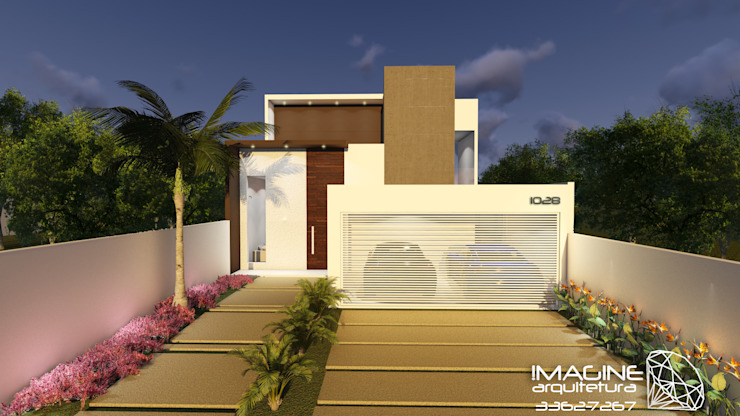 Modern houses by Imagine Arquitetura Modern