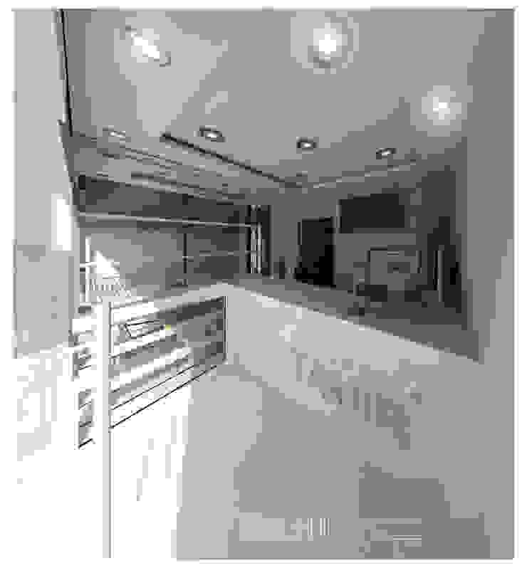 Vista3D- Vitrina, caja y Atención- Tintoteria Tamir de Eisen Arquitecto Minimalista