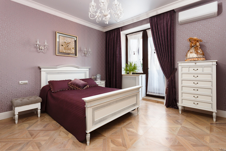Classic style bedroom by AGRAFFE design Classic