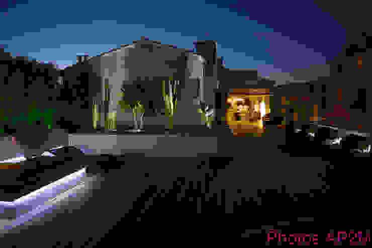 Eclairage terrasse Maisons modernes par Architecture Nature & Lumière Moderne