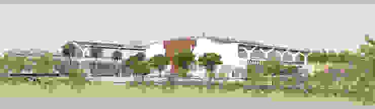 Complejo Deportivo U.T. de arquitectura sostenible colombia