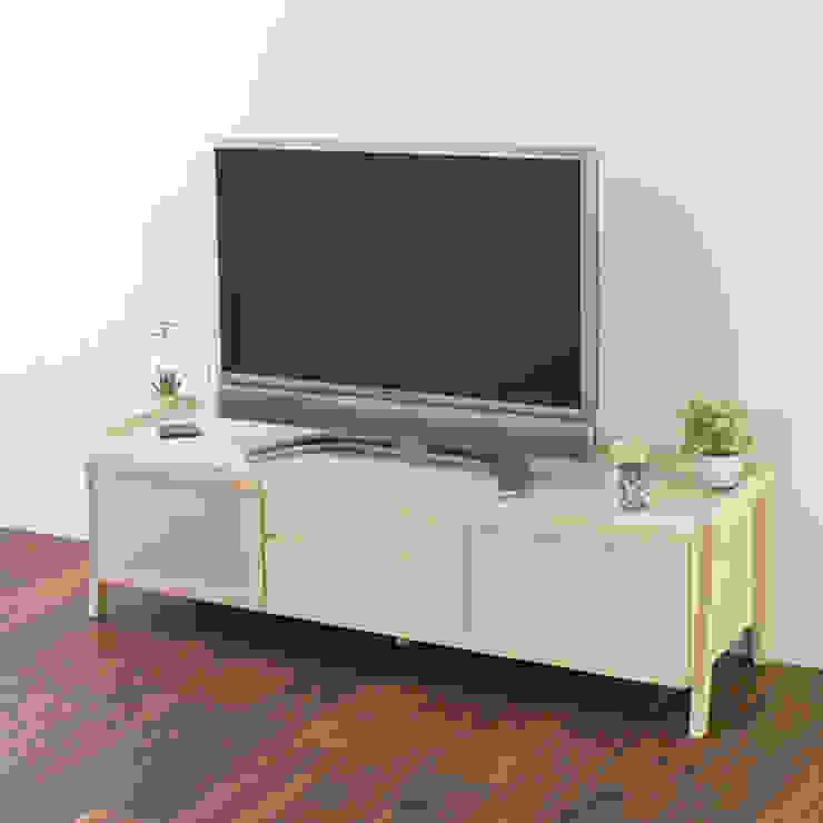 株式会社 大雪木工 Salas/RecibidoresMuebles para televisión y equipos Madera Acabado en madera