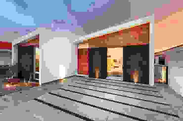 CASA MRE Casas modernas de Imativa Arquitectos Moderno Madera Acabado en madera