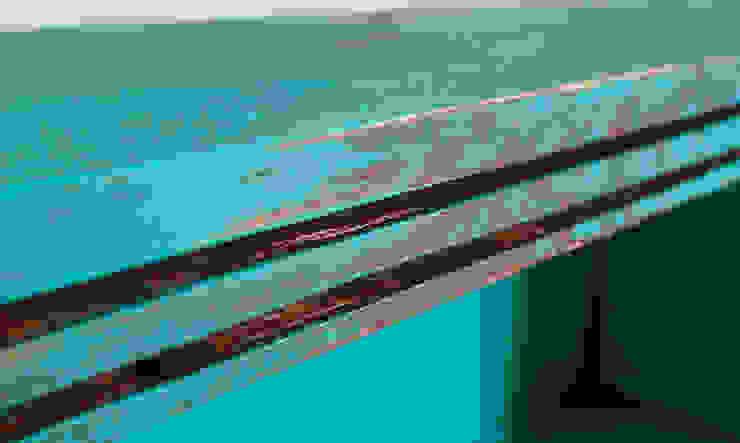 3 Çekmeceli Vintage Dolap – Yeşil Pons Home Design Rustik Ahşap Ahşap rengi