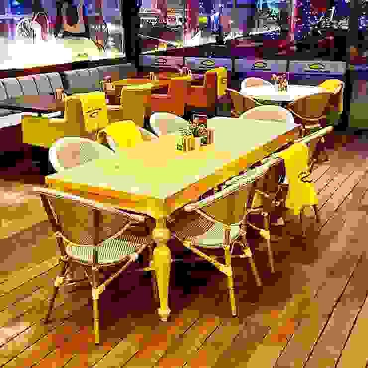 Sör tasarım atölyesi  – masif torna masa: modern tarz , Modern Ahşap Ahşap rengi