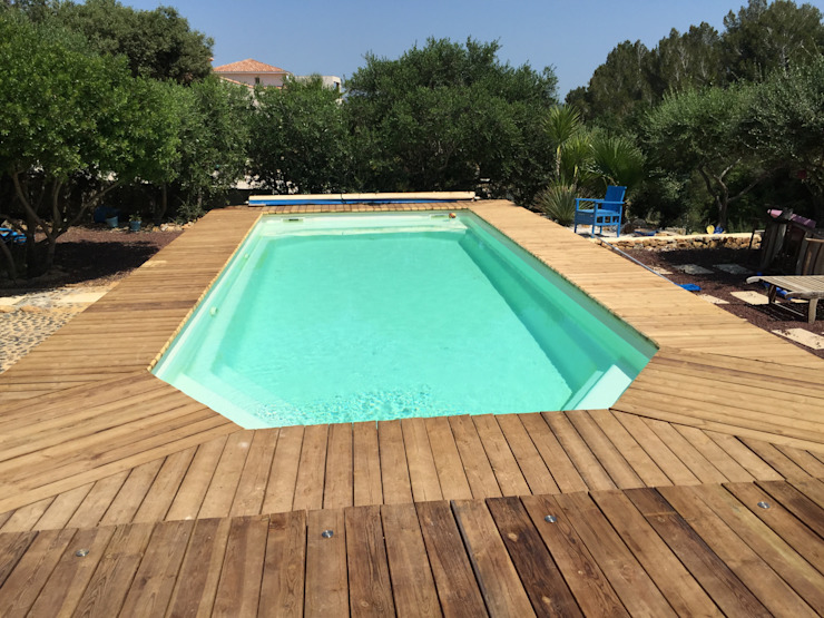 BATIR AU NATUREL Modern Pool Solid Wood