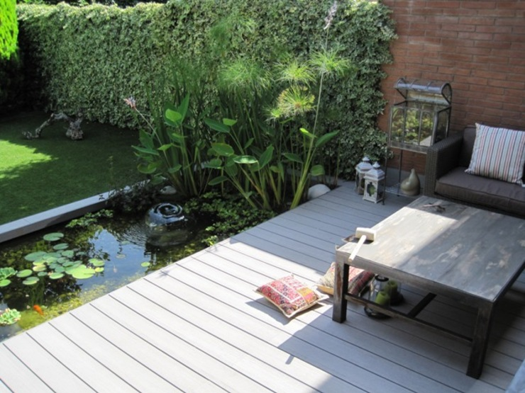 Jardines de estilo  por jardinista, Moderno