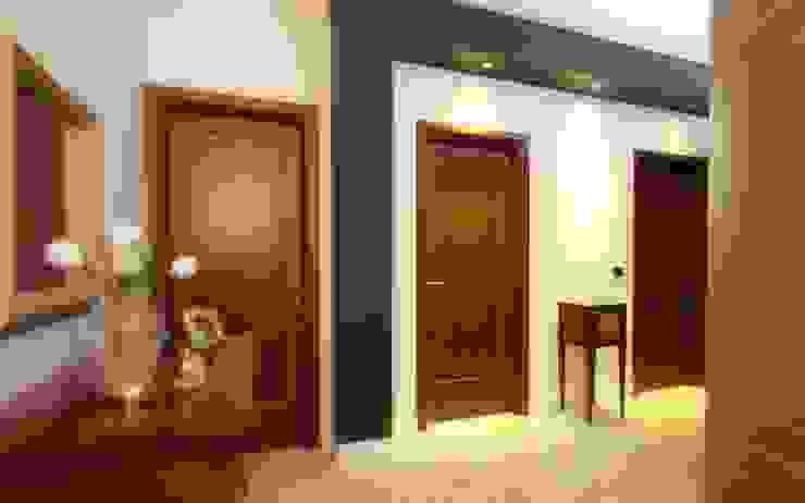 Studio Ferlenda Pasillos, vestíbulos y escaleras de estilo clásico