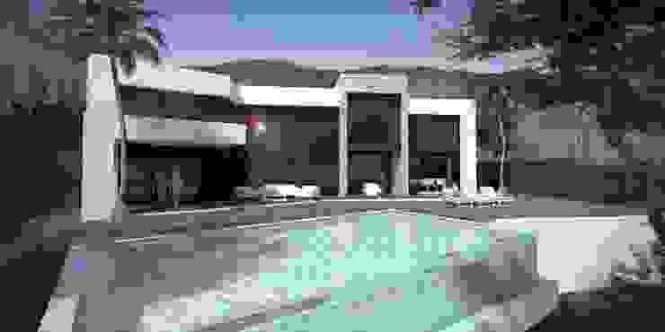 OPUS 15-7 Casas de estilo moderno de MANSION DESIGN Moderno
