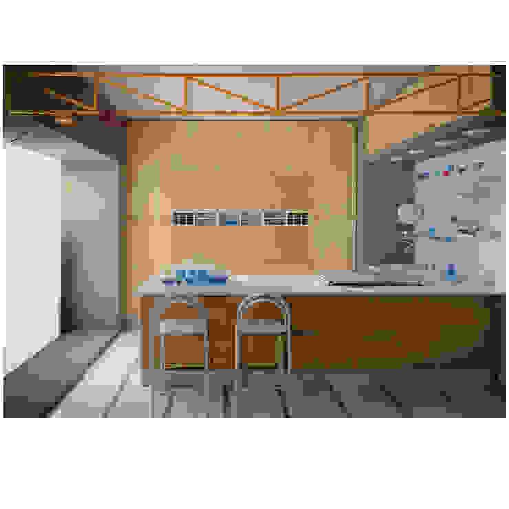 programma cucina KALEIDOS di Studio Giobbi Architetto Moderno