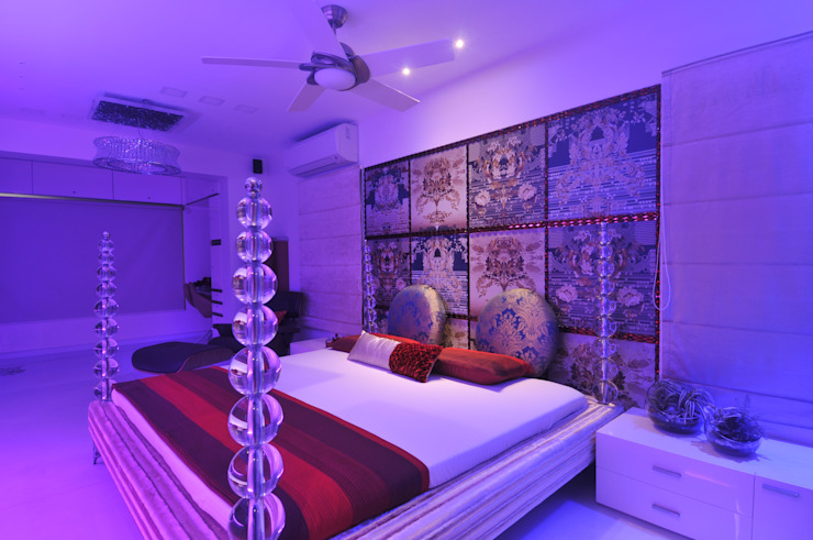 Site at Juhu Modern Bedroom by Mybeautifulife Modern