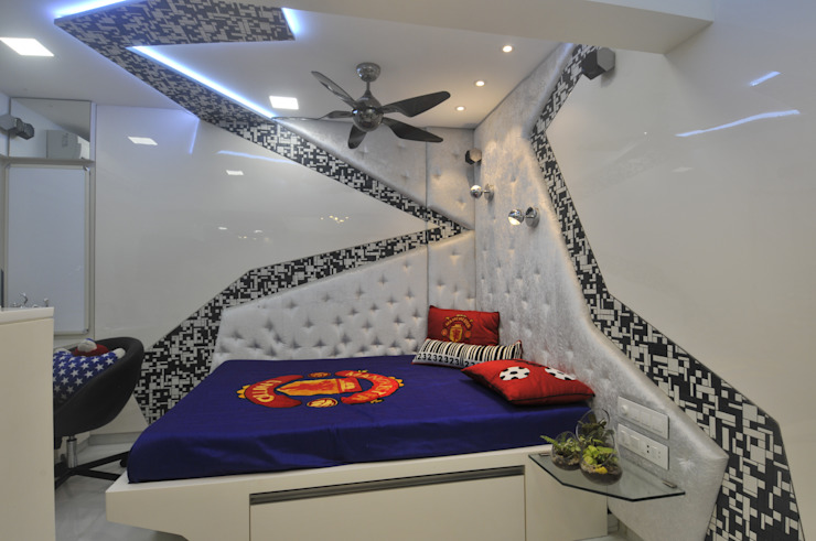 Site at Juhu Modern Kid's Room by Mybeautifulife Modern