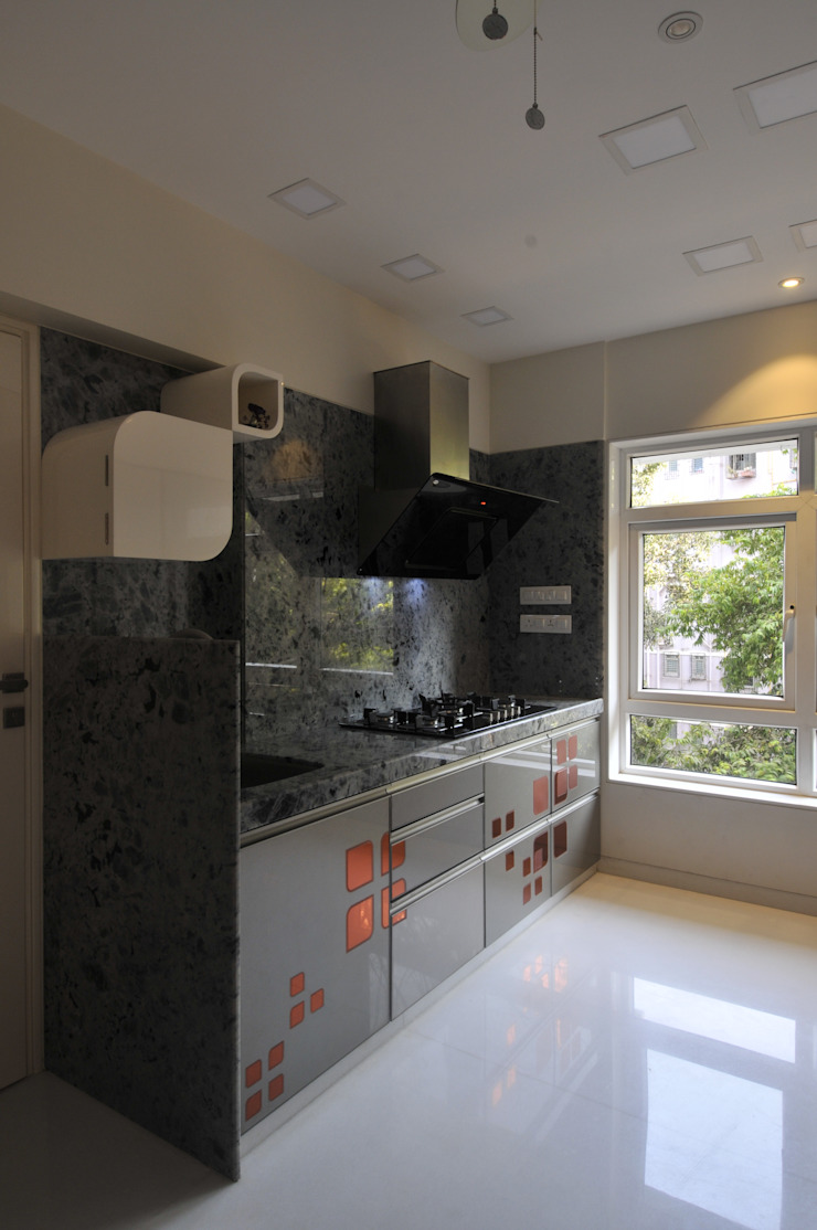 Site at Juhu Modern kitchen by Mybeautifulife Modern