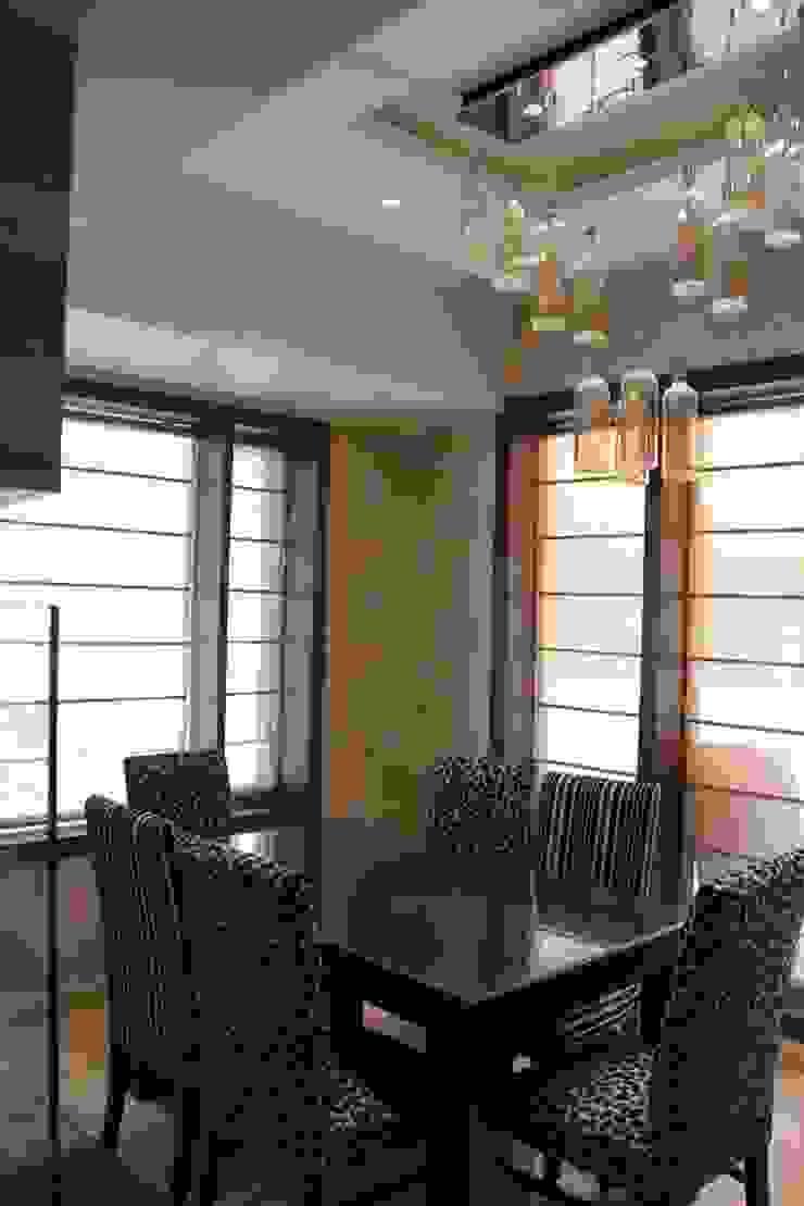 Chand Residence Modern dining room by Studio Ezube Modern