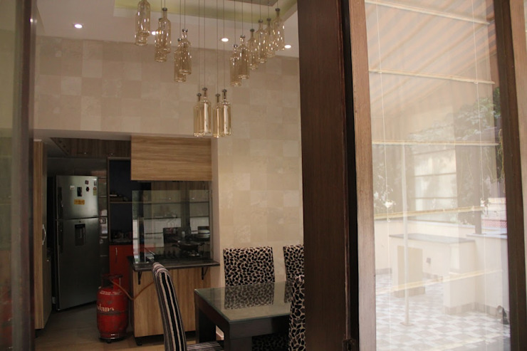Chand Residence Modern kitchen by Studio Ezube Modern