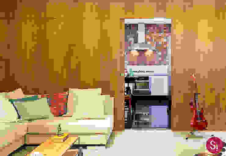 Cocina de estilo  por Botti Arquitetura e Interiores-Natália Botelho,