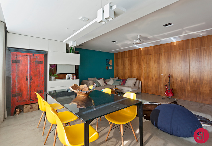 Comedores de estilo  por Botti Arquitetura e Interiores-Natália Botelho,